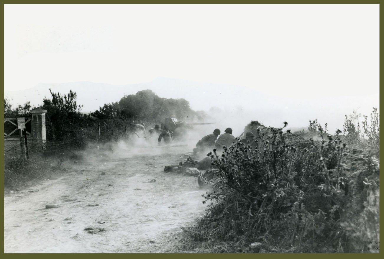 American antitank unit