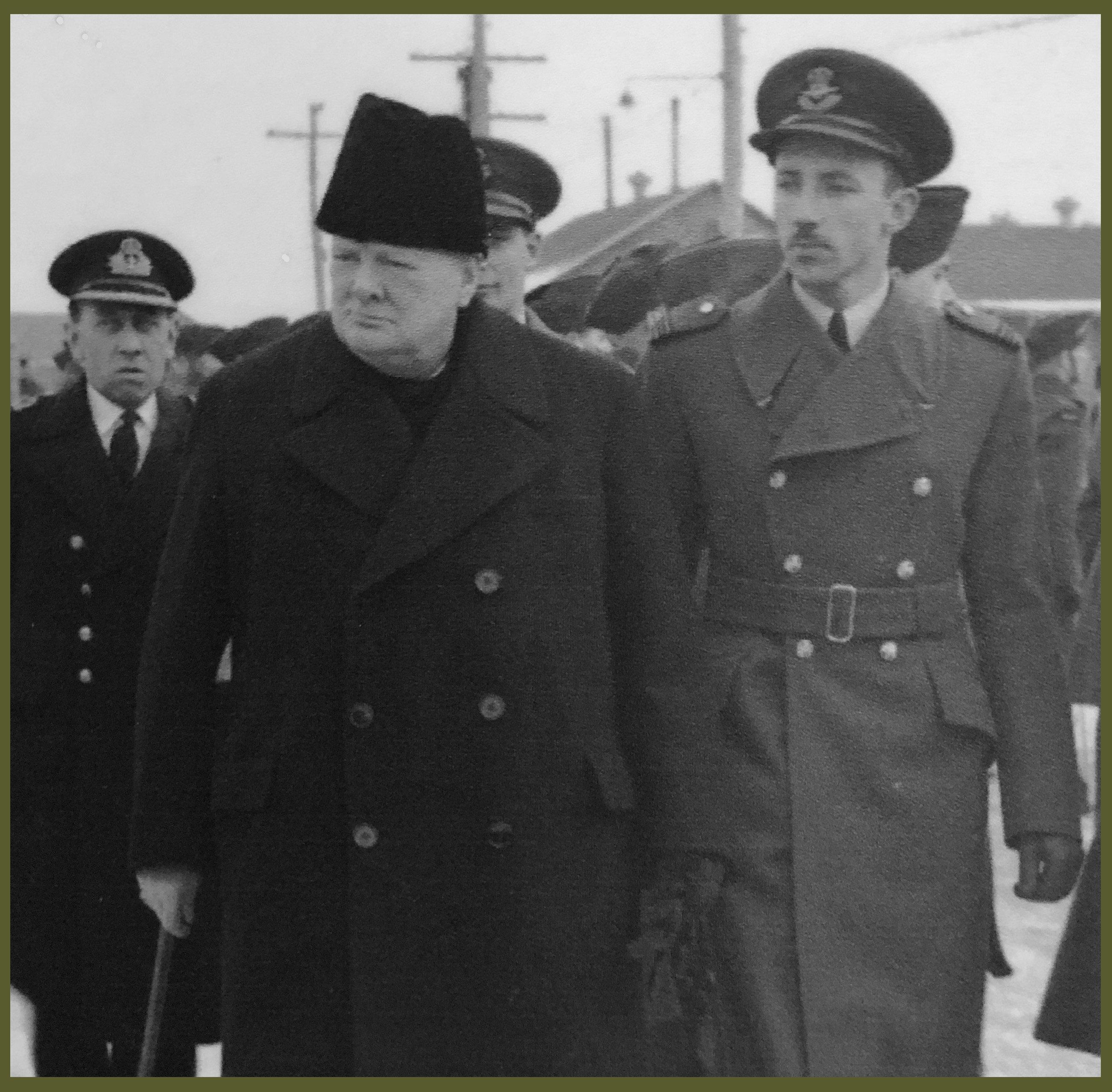 BCATP Canada Winston Churchill visit