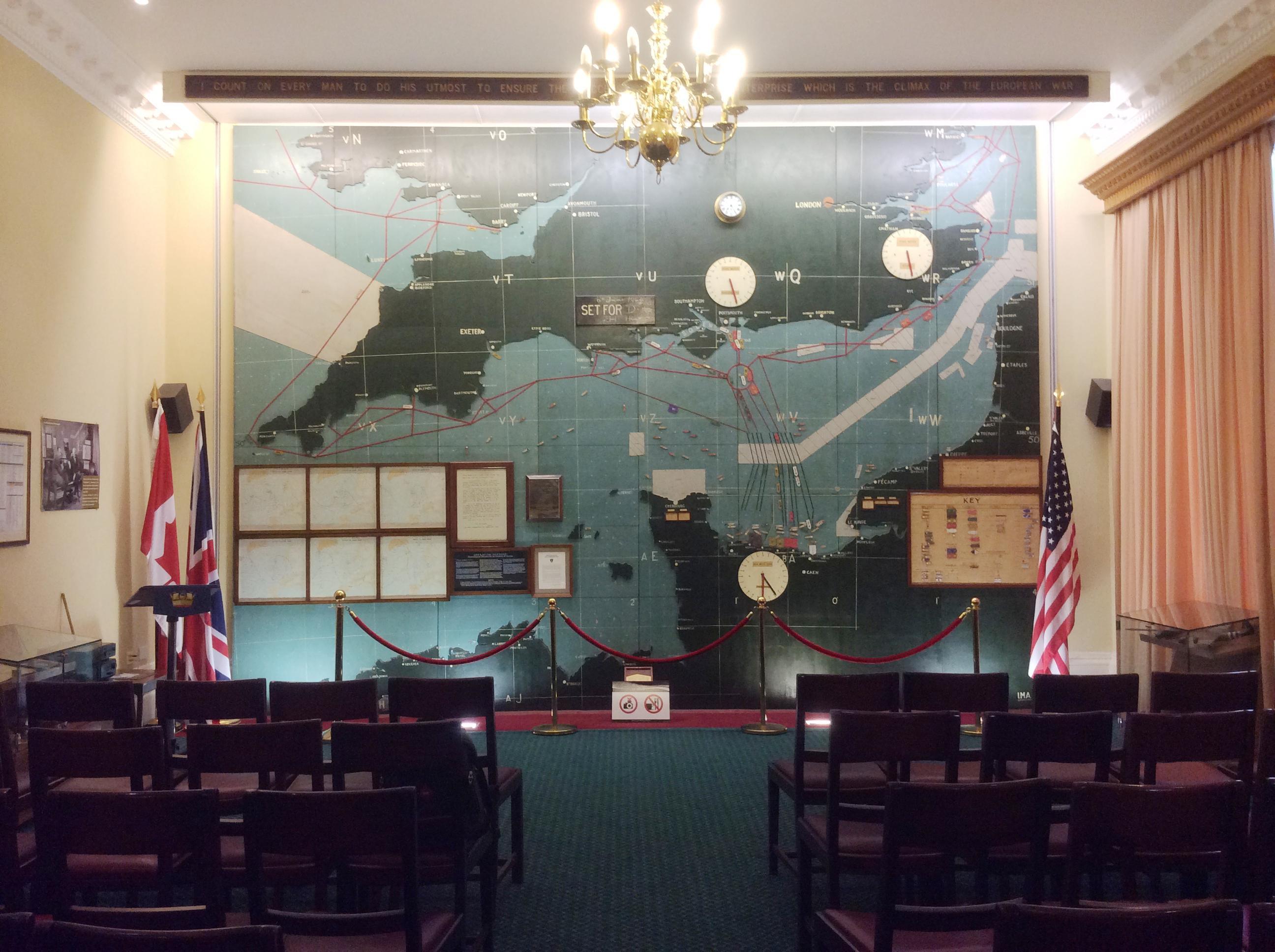 Dday map background Southwick house.jpg