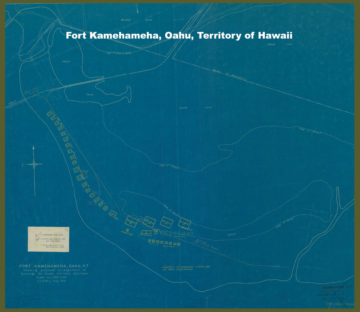 Fort Kamehameha, Oahu, Territory of Hawaii