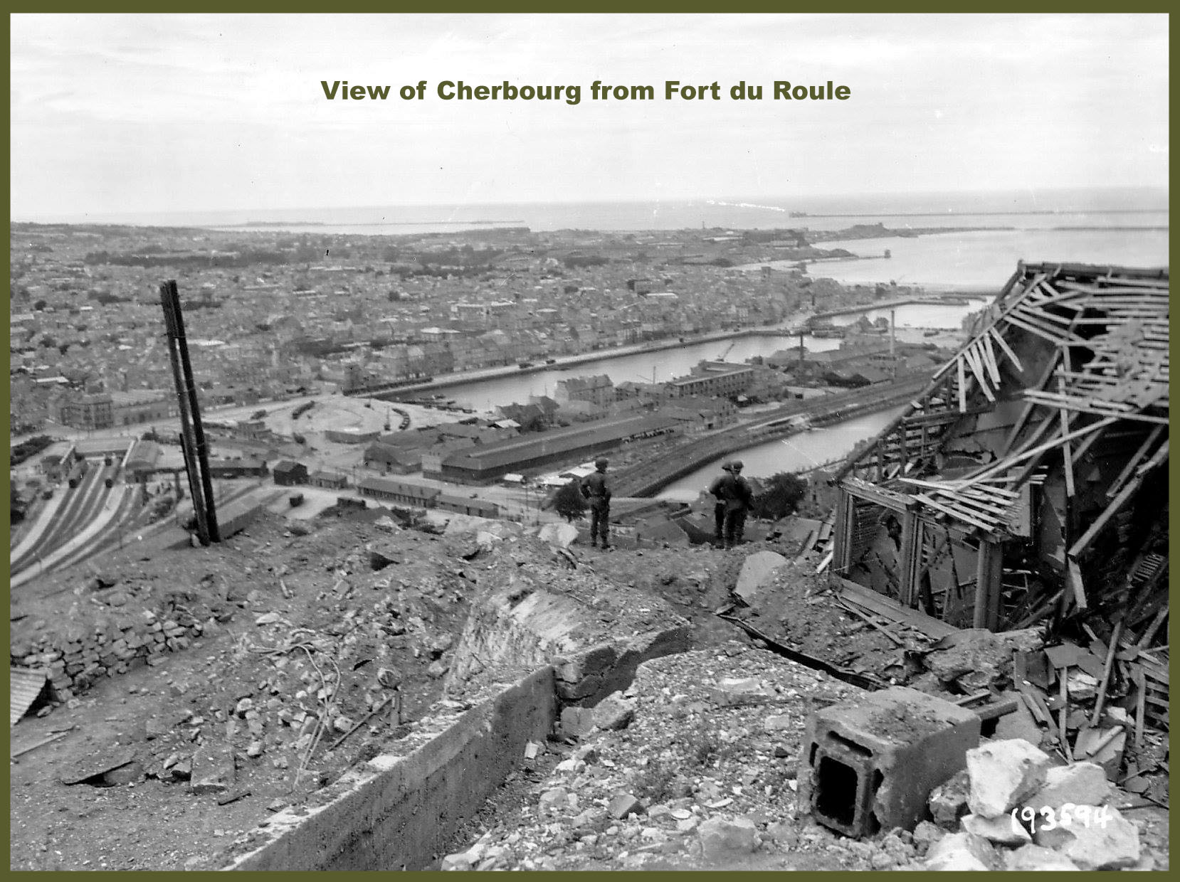 Fort du Roule view of Cherbourg copy