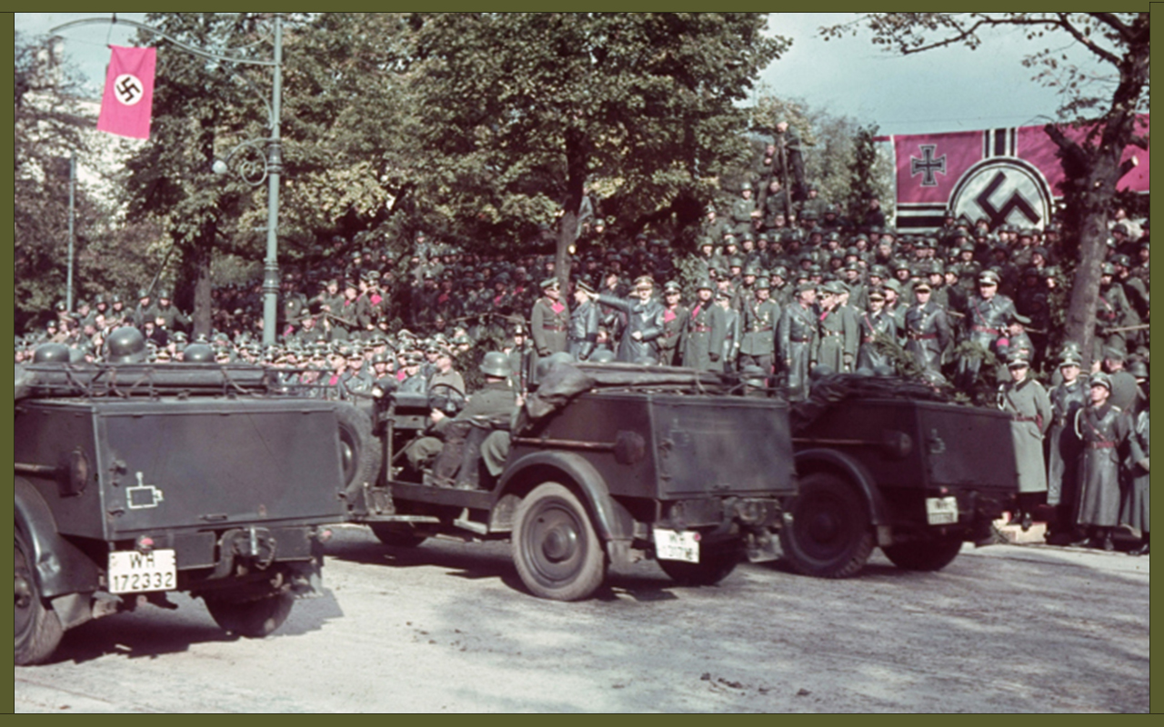 German victory parade in Warsaw after the invasion of Poland, 1939 (1) copy