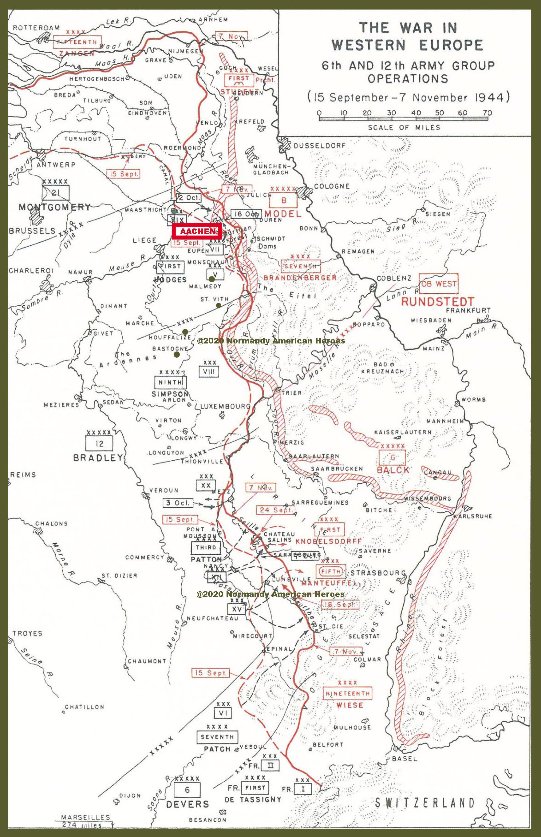 15 September to 7 November 1944 6th and 12th Amry Group Opeations copy