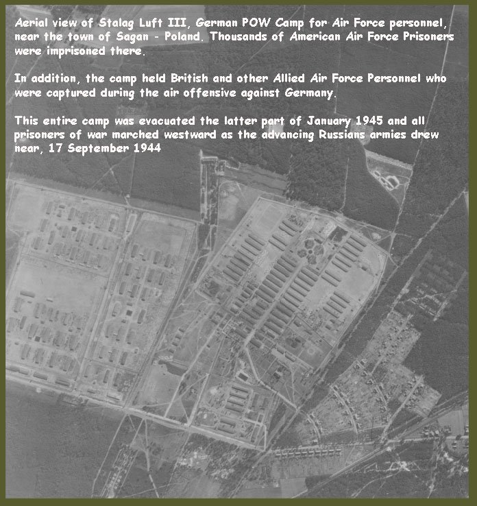Aerial View Of Stalag Luft Iii,