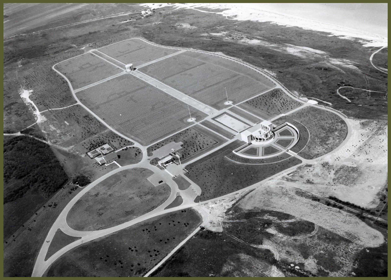 American cemetery aerial A4