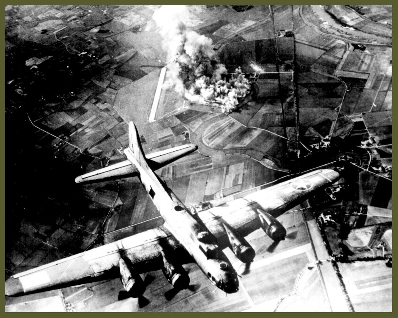B17 Marienburg october 1943 bombing
