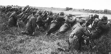 Battle of the Marne french soldiers