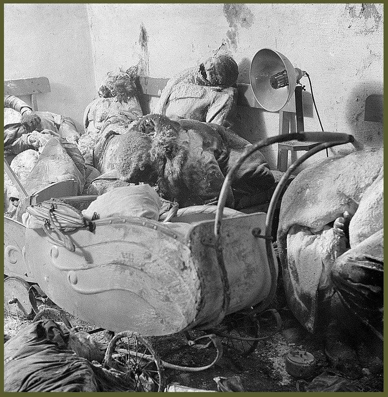 Dresden dead bodies