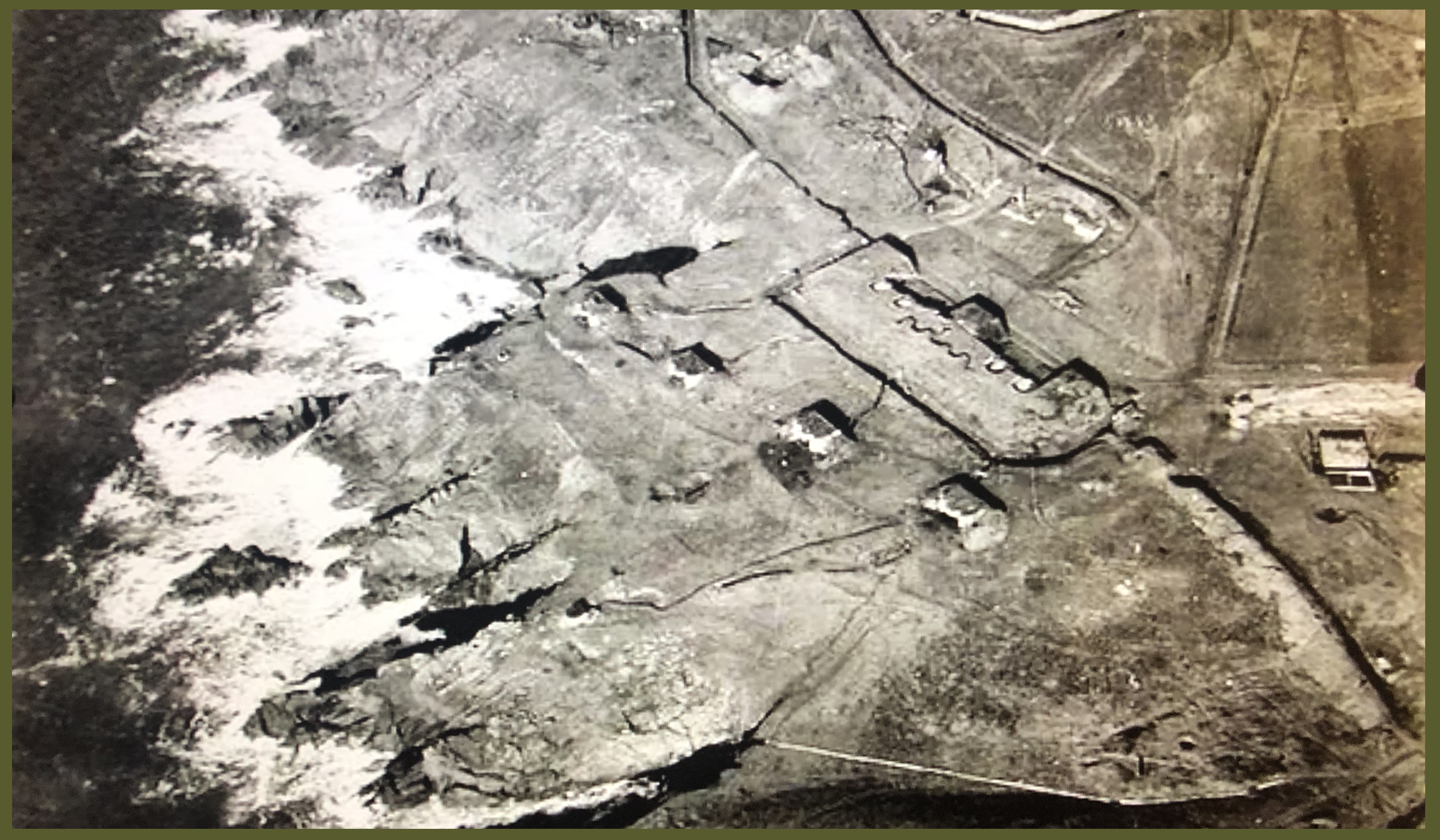 Fort Toulbroch from the air