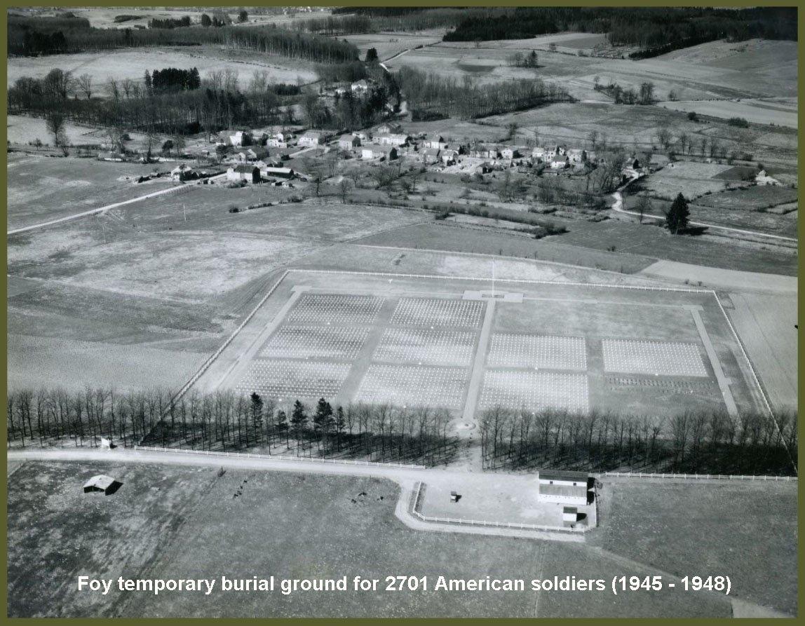 Foy cemetery 10 may 1946