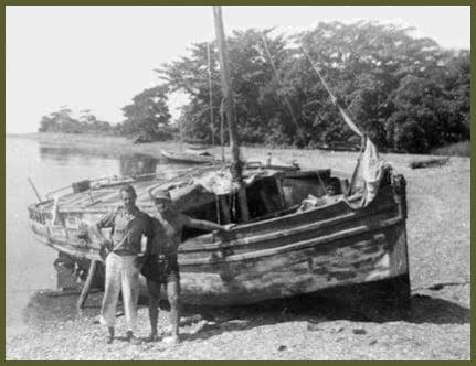Gauge and Osborne boat