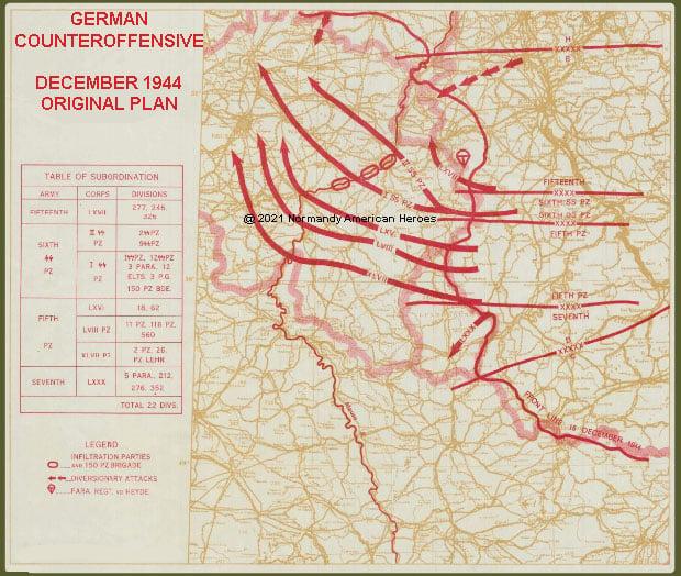 German original plan copy