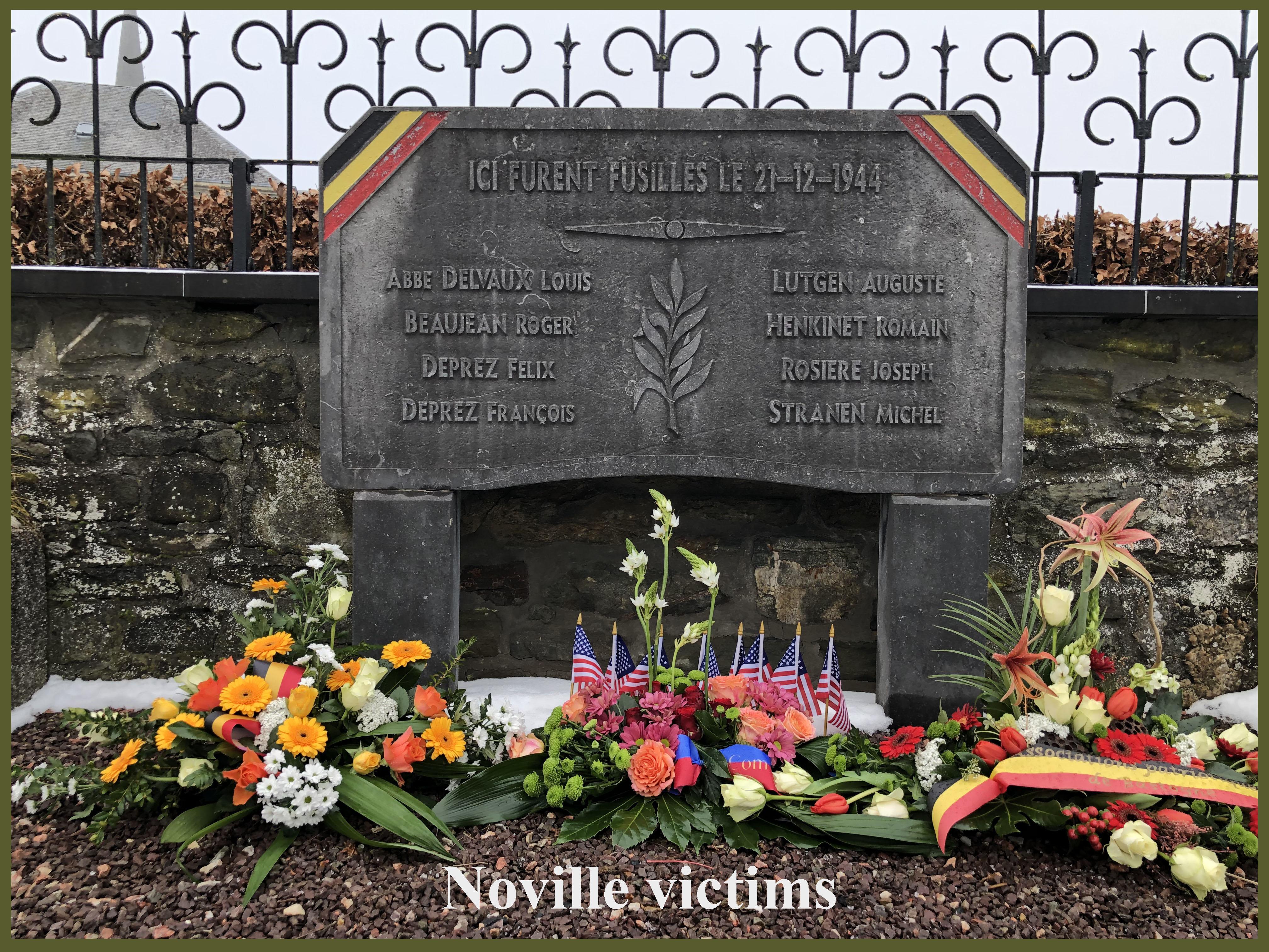 Noville december 21 civilians executed