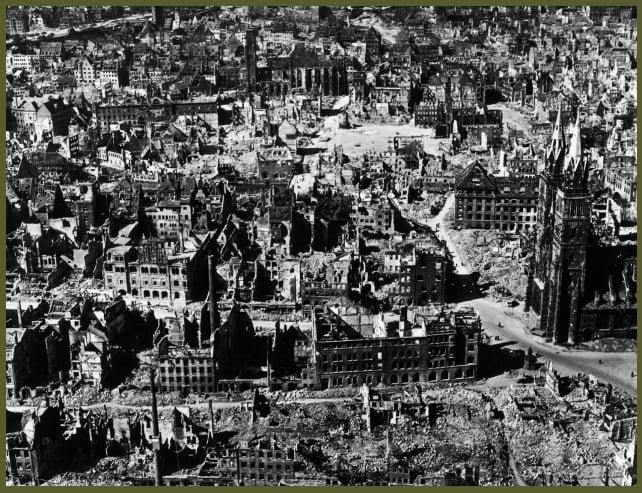 Nuremberg bombing January 1945
