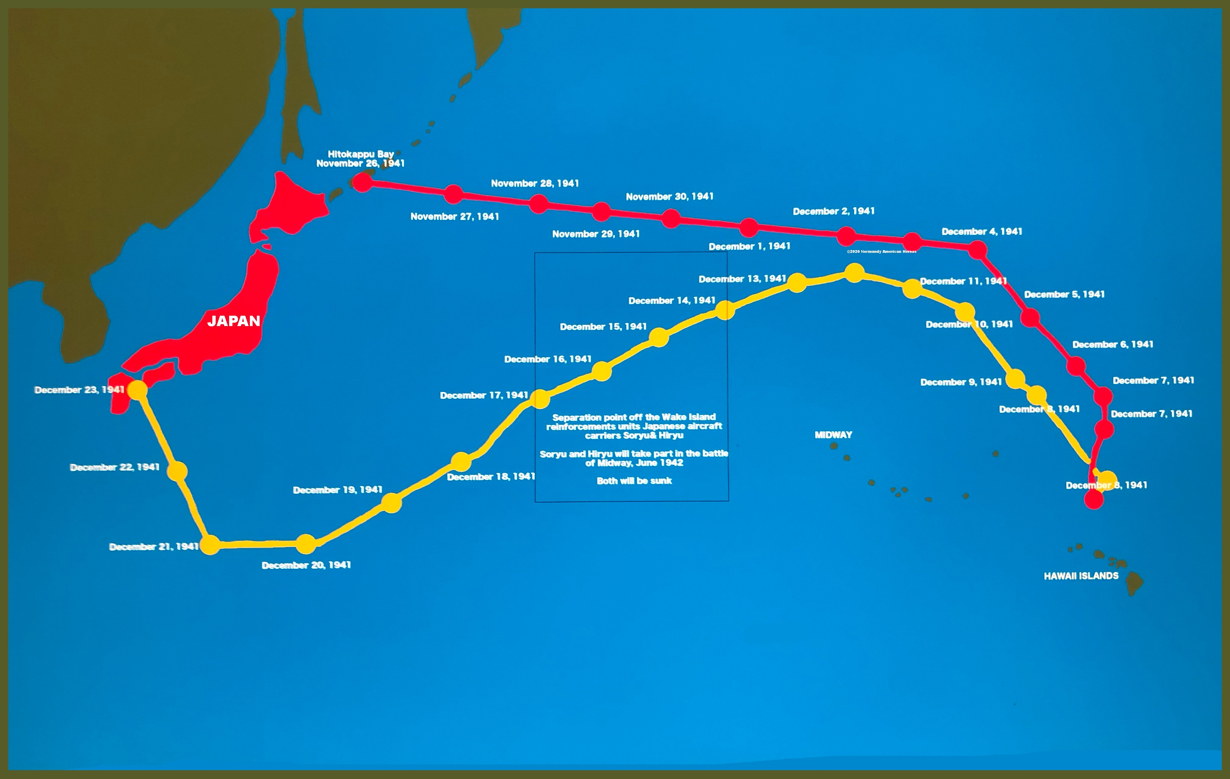 Pearl Harbor route attack final