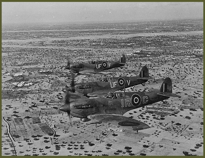 Spitfire Tunisia 1943