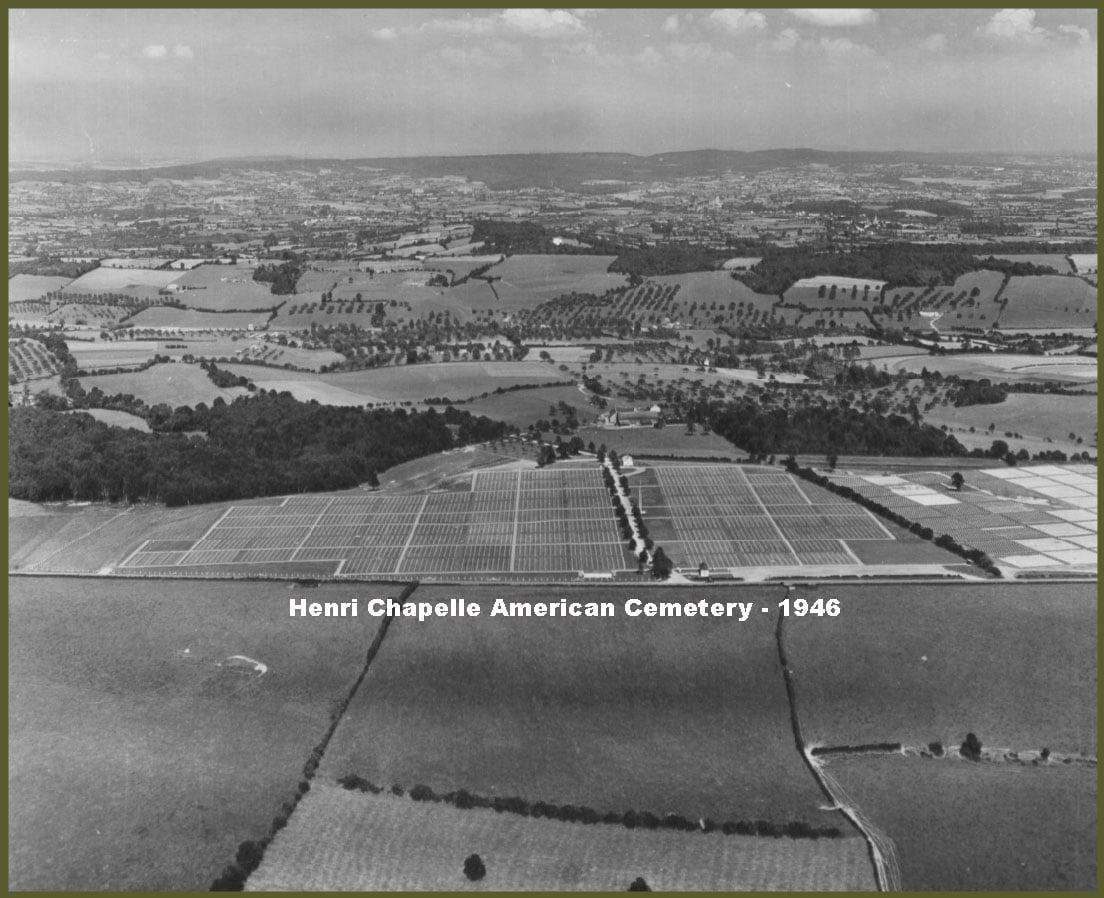 United States Military Cemetery Near Henri Chapelle, Belgium