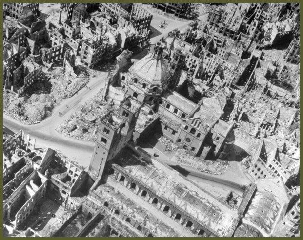 Wurzburg Bomb March 1945