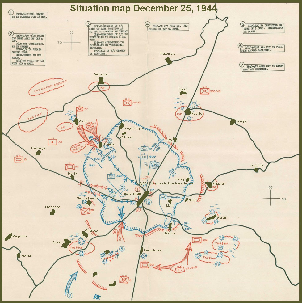 situation map 25 december 1944 copy