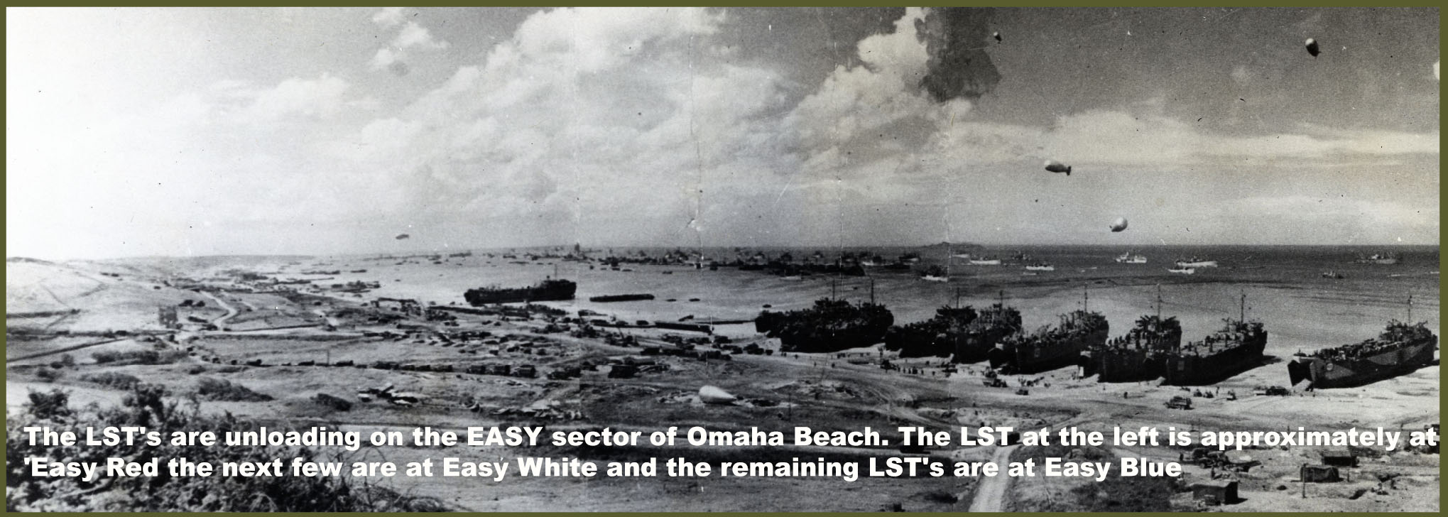 LST after Dday Easy sector