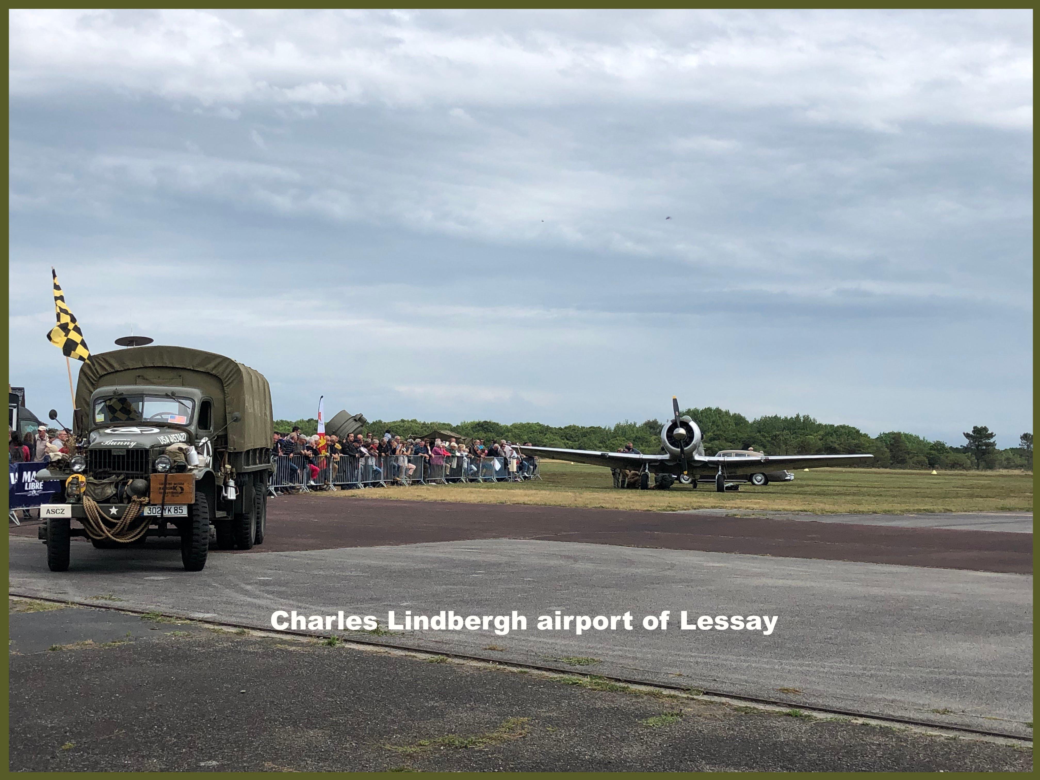 Lessay charles Lindberg airport copy