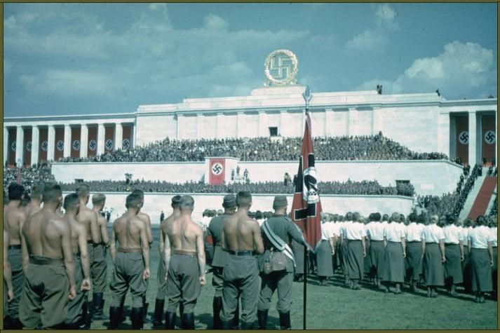 Nazi Party Congress in Nuremberg, Germany, 1937 copy