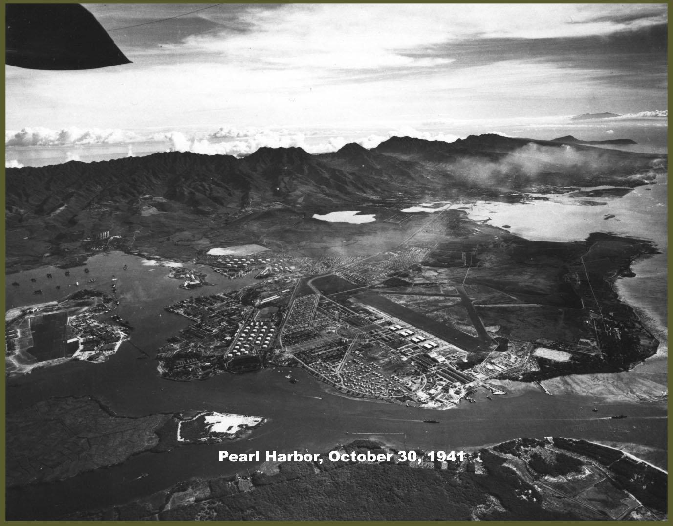 Pearl Harbor October 30, 1941