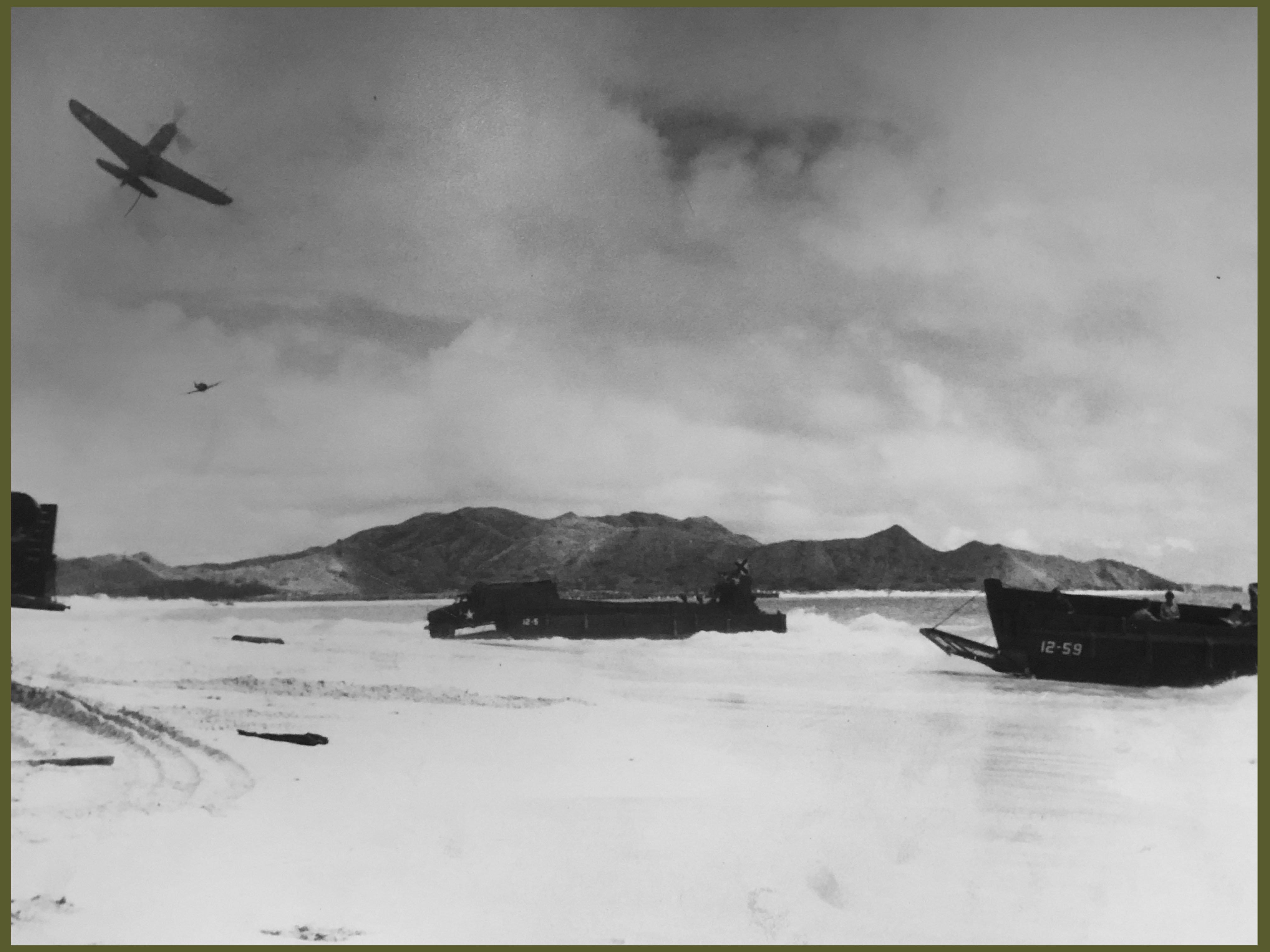 Photo amphibious landing