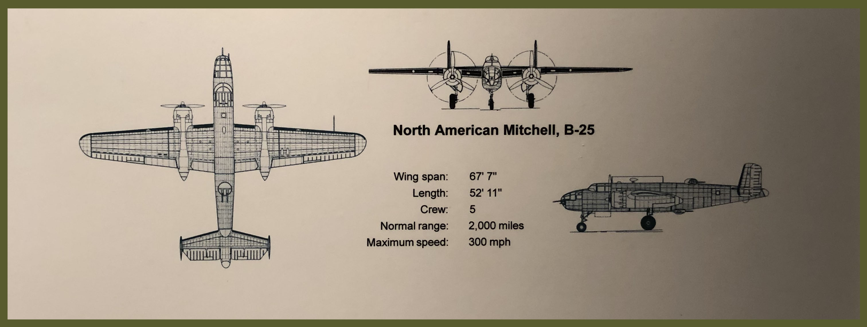 Picture Mitchell B-25