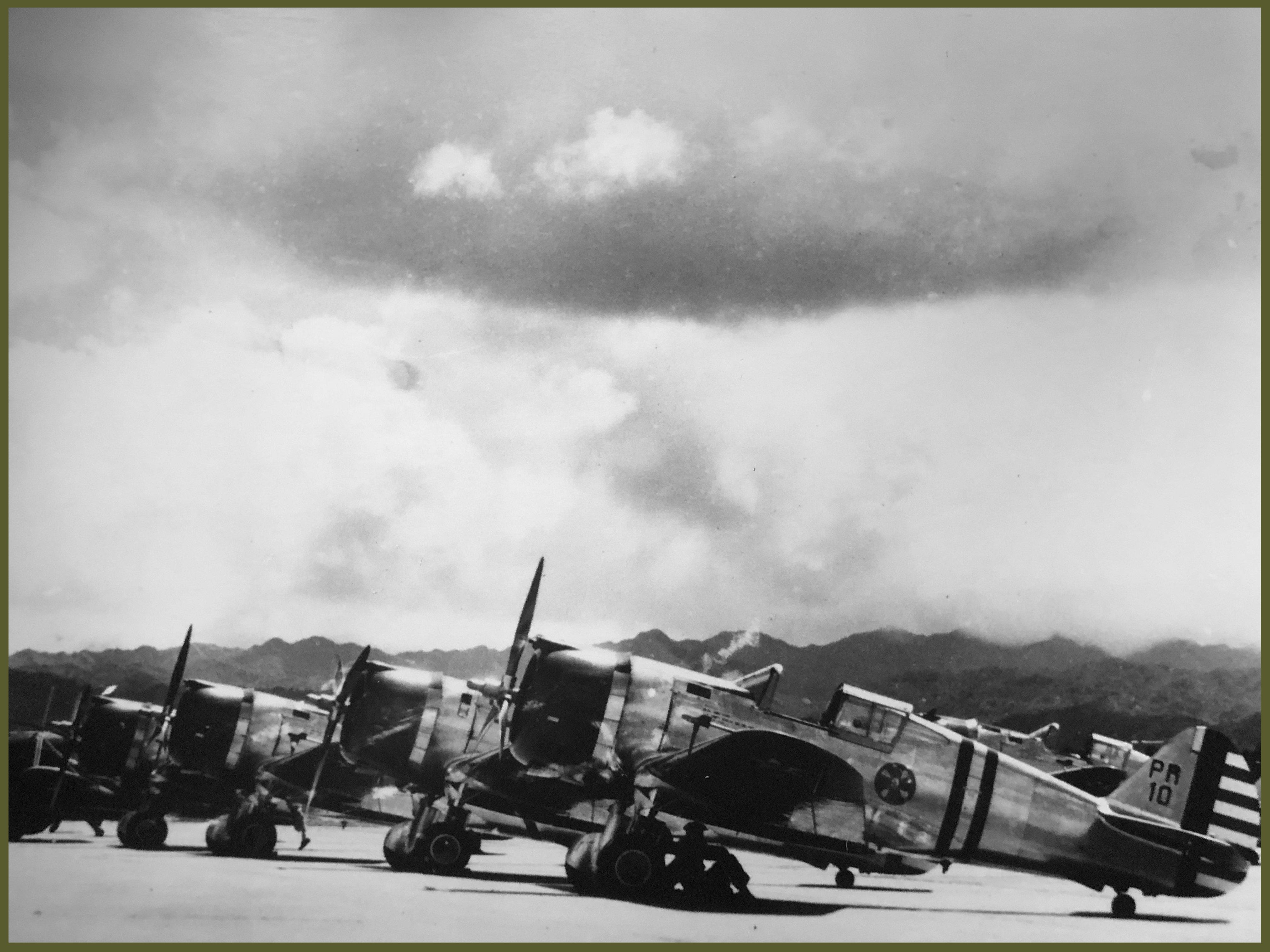 Planes aligned Pearl Harbor