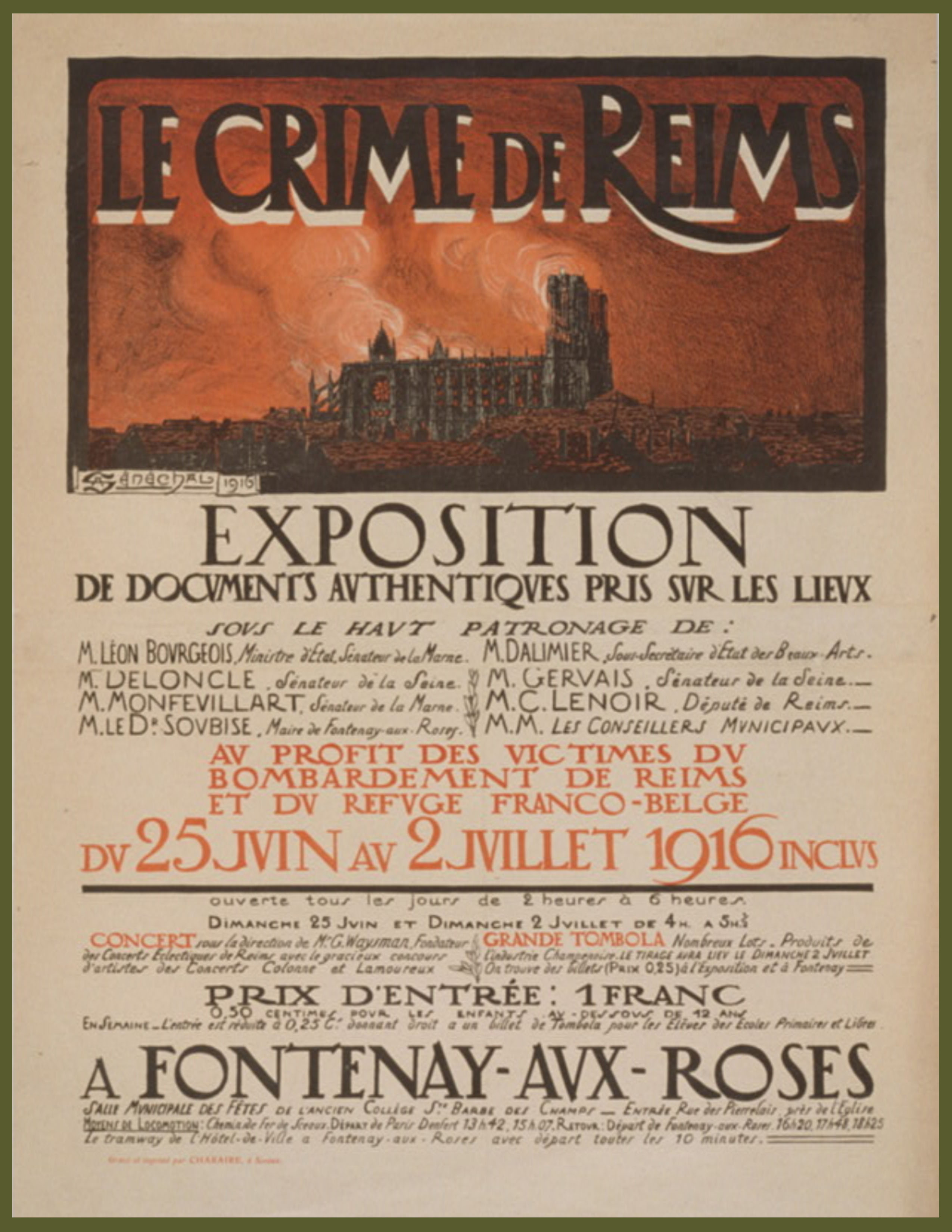 Poster le Crime de Reims