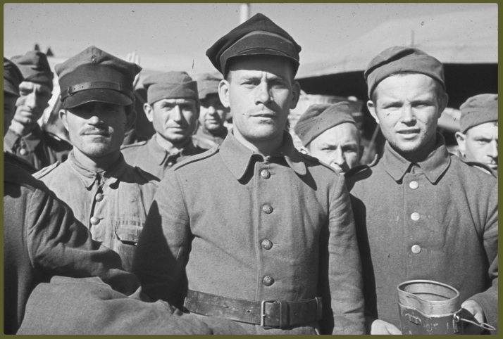 Captured Polish soldiers, 1939