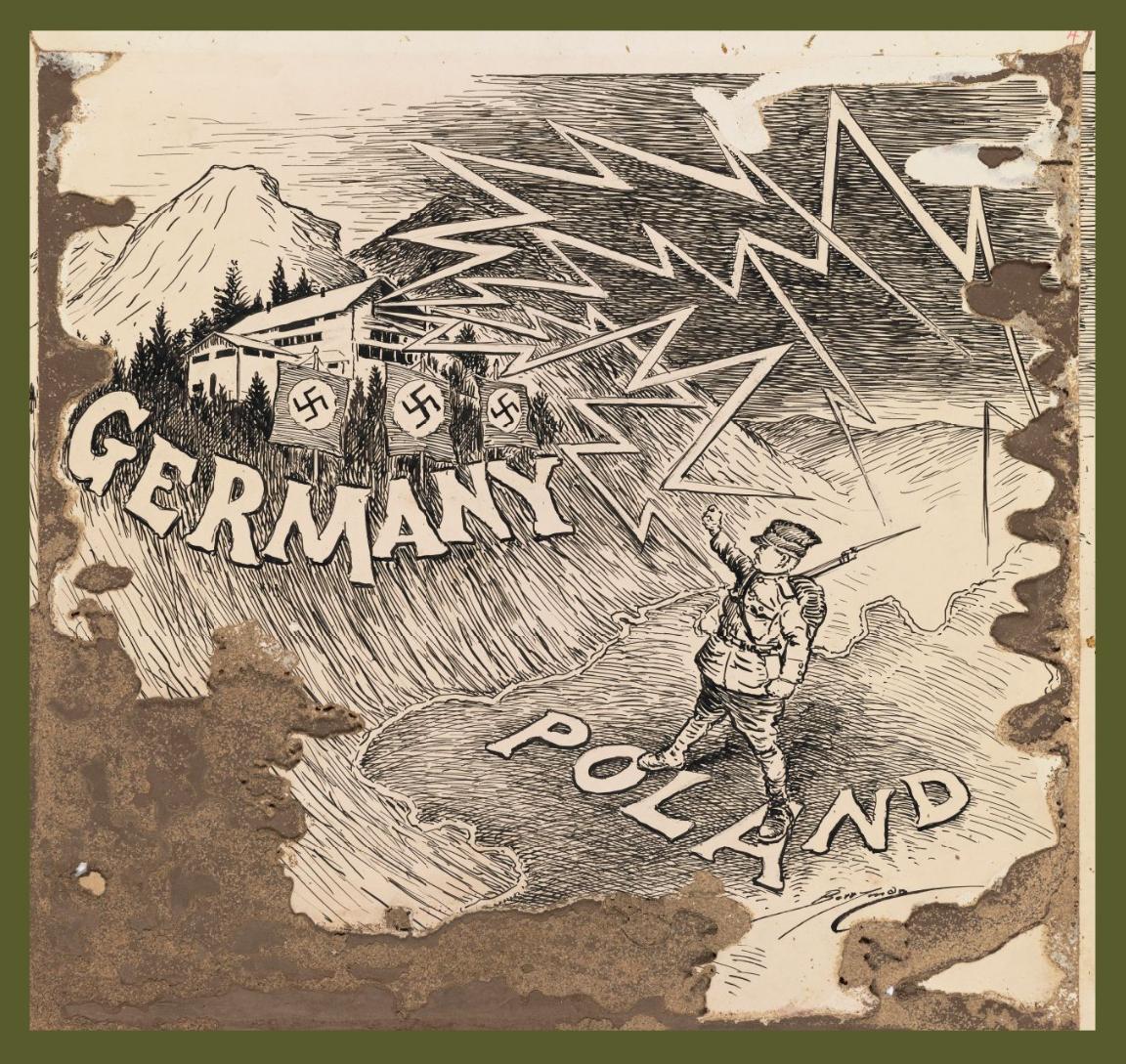 September 1, German troops invade Poland