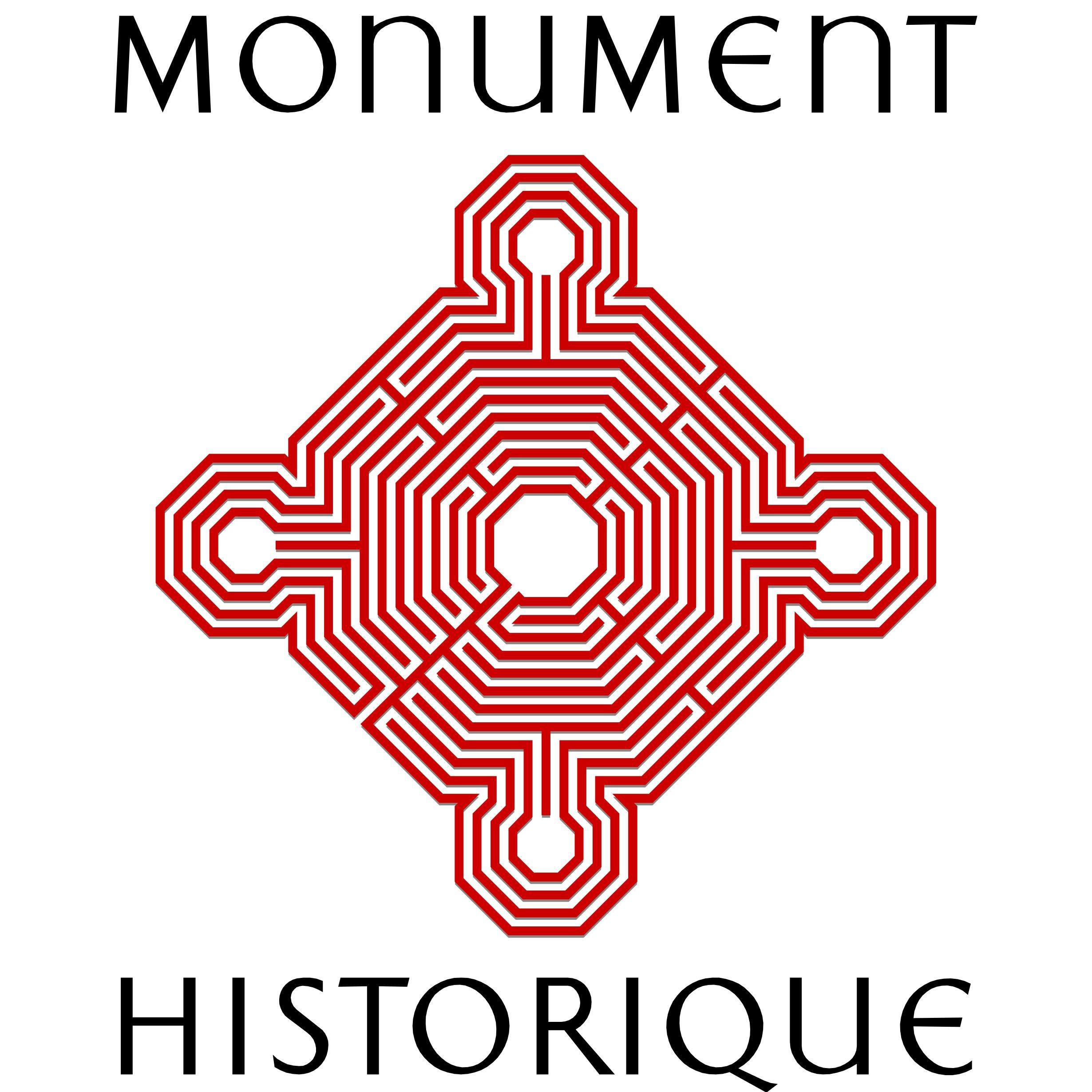 monument historique logo