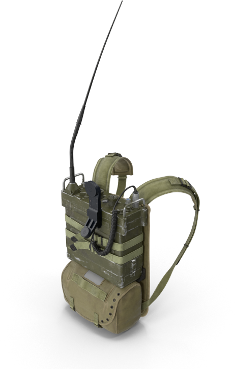 PRC-25-Radio-with-Pack.G11-1