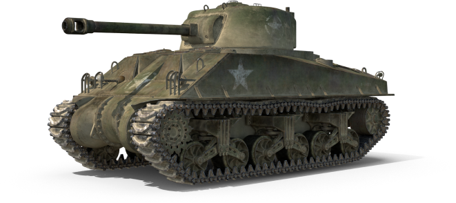 Sherman-Tank-Olive-Scheme-with-Dust.I15-1