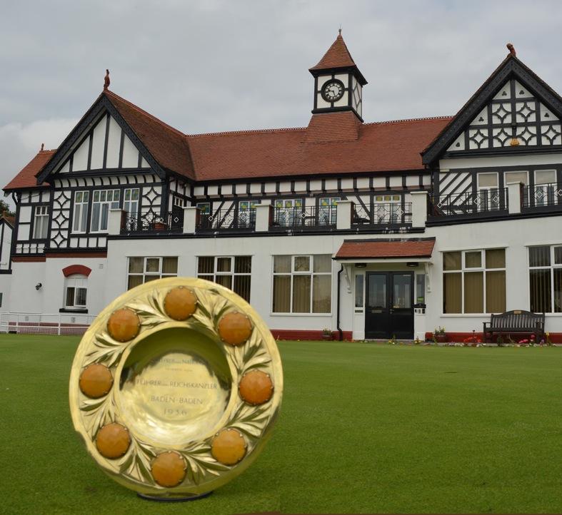 Golfpreis der Nationen trophy